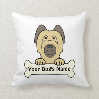 Personalized Briard Pillows