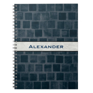 Personalized Brick Wall Texture Notebook