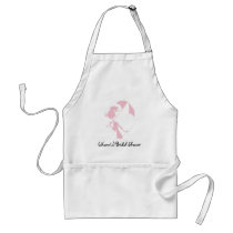 Personalized Bridal Shower Apron-Autographable! Adult Apron