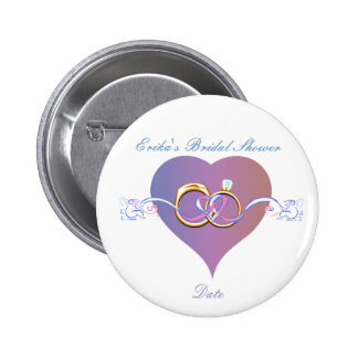 PERSONALIZED BRIDAL SHOWER BUTTON