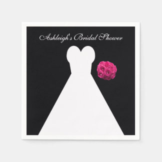 Bridal Shower Paper Napkins Zazzle