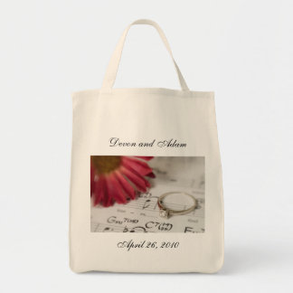 Personalized Bridal Tote Bag - Daisy and Diamond