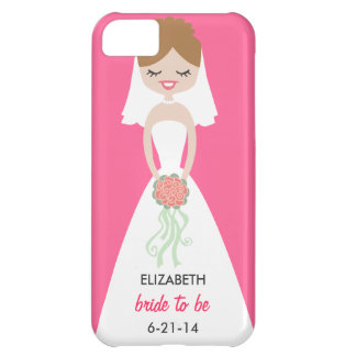 Personalized Bride iPhone 5 Case-Mate Barely There Case For iPhone 5C
