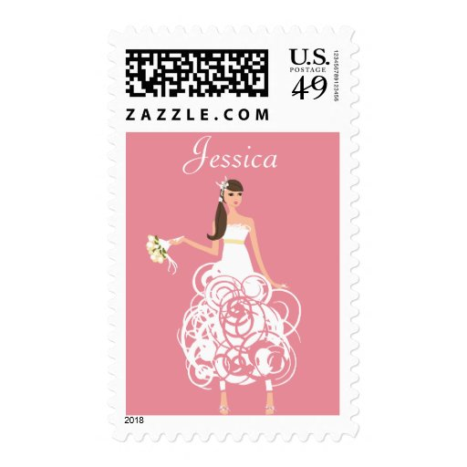 Personalized Bride stamps