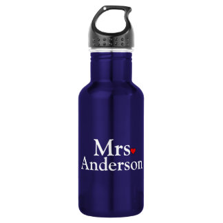 Personalized Bride Water Bottle