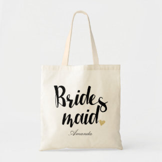 Personalized Bridesmaid3 Tote Bag