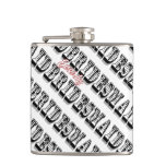 Personalized Bridesmaid Flask Hip Flasks