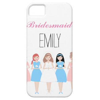 Personalized Bridesmaid iPhone SE/5/5s Case