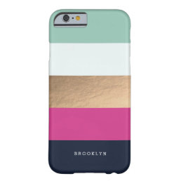Personalized | Bright Heues Barely There iPhone 6 Case
