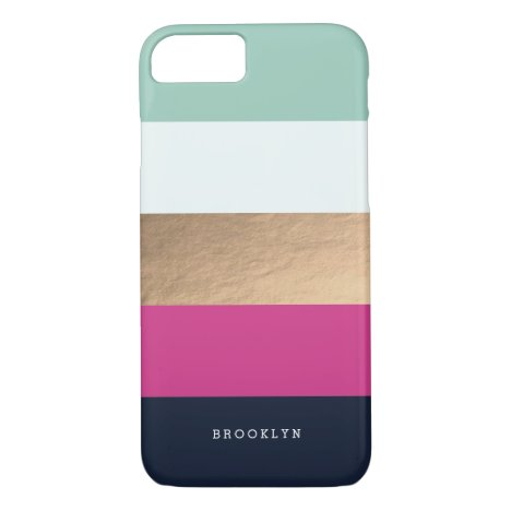 Personalized | Bright Heues iPhone 8/7 Case