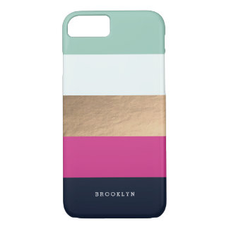 Personalized | Bright Heues iPhone 7 Case