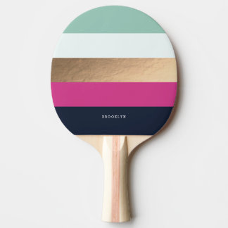 Personalized | Bright Heues Ping-Pong Paddle