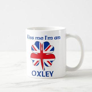 Personalized British Kiss Me I'm Oxley Coffee Mug