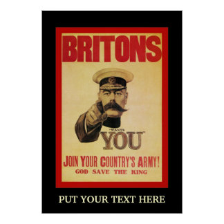 Personalized Britons Recruiting Print