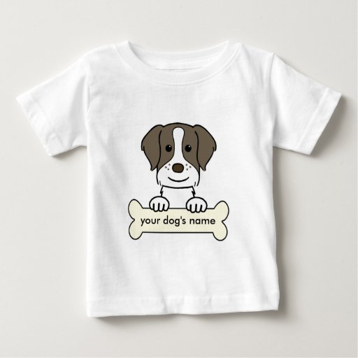Personalized Brittany Spaniel Tshirt