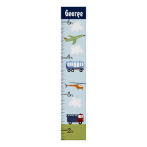 Personalized Brody Transportation Growth Chart