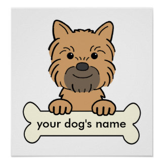 Personalized Brussels Griffon Poster