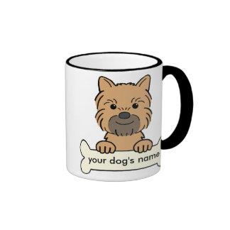 Personalized Brussels Griffon Ringer Mug