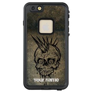 Personalized || Brutal punk skull LifeProof FRĒ iPhone 6/6s Plus Case