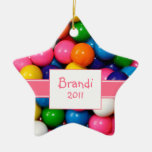 Personalized Bubblegum Ornament