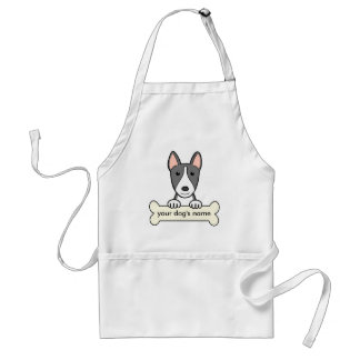 Personalized Bull Terrier Adult Apron