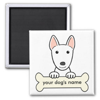 Personalized Bull Terrier Magnet