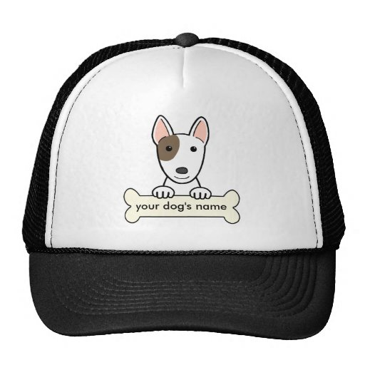 Personalized Bull Terrier Mesh Hats