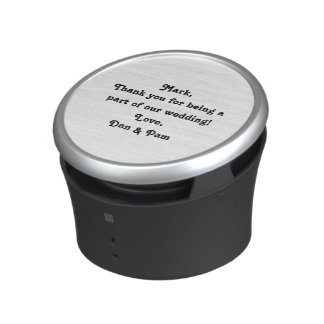 Personalized Bumpster Speaker