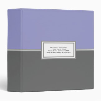 Personalized Business Binder