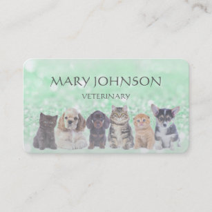 Veterinary business cards templates zazzle personalized business card veterinary colourmoves