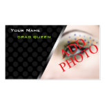Personalized Business Cards Drag Queen Performers