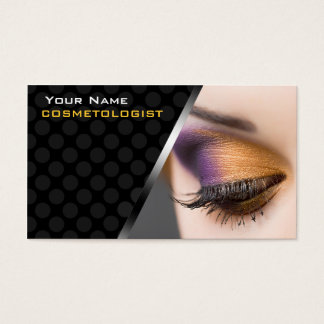 Personalized BusinessCards For Make Up Cosmetics Business Card