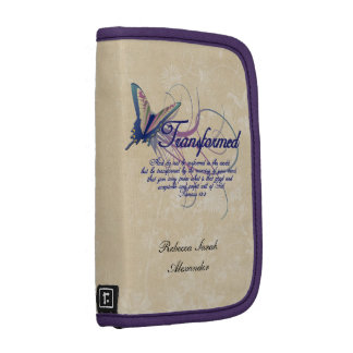 Personalized Butterfly Bible Christian Organizer