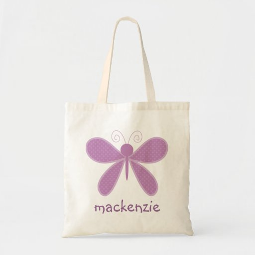 Personalized Butterfly Bookbag Bag