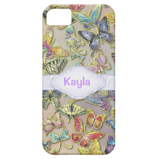 PERSONALIZED BUTTERFLY CHIC CUSTOM I PHONE 5S CASE iPhone 5 CASE