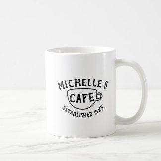Personalized Cafe Coffee Mug