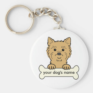 Personalized Cairn Terrier Keychain