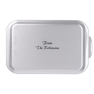 Personalized Cake/Brownie Pan