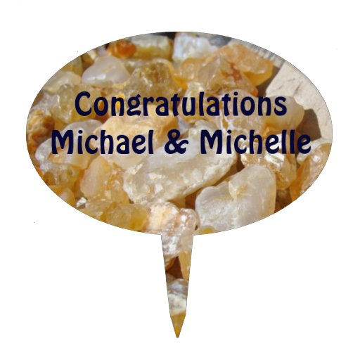 Congratulation Cake Images With Name : Personalized Cake Picks Congratulations Names Zazzle