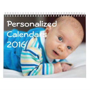 Personalized Calendars 2016