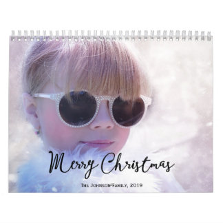 Personalized Calendars 2019 Merry Christmas