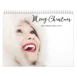 Personalized Calendars Christmas 2017