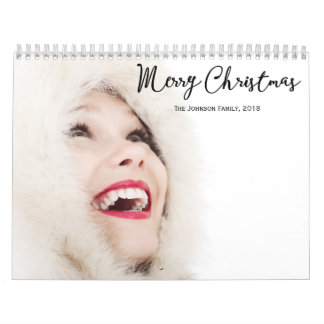 Personalized Calendars Christmas 2018