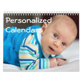 Personalized Calendars (January - December)