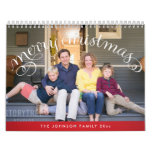 Personalized Calendars Photo Merry Christmas