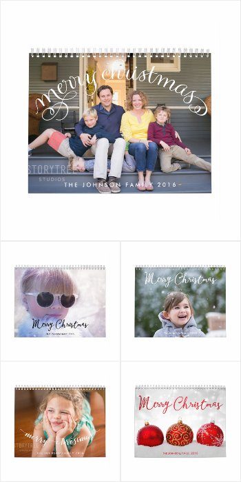 Personalized Calendars Photo Merry Christmas 2016