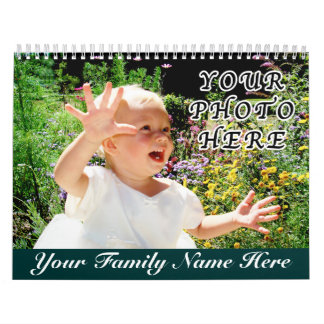 Personalized Calendars with YOUR NAME and PHOTOS