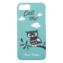 Personalized Call Me Owl iPhone 8/7 Case