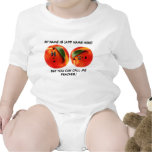 Personalized Call Me Peaches Baby Tee Shirt