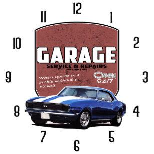 Cars Wall Clocks | Zazzle
